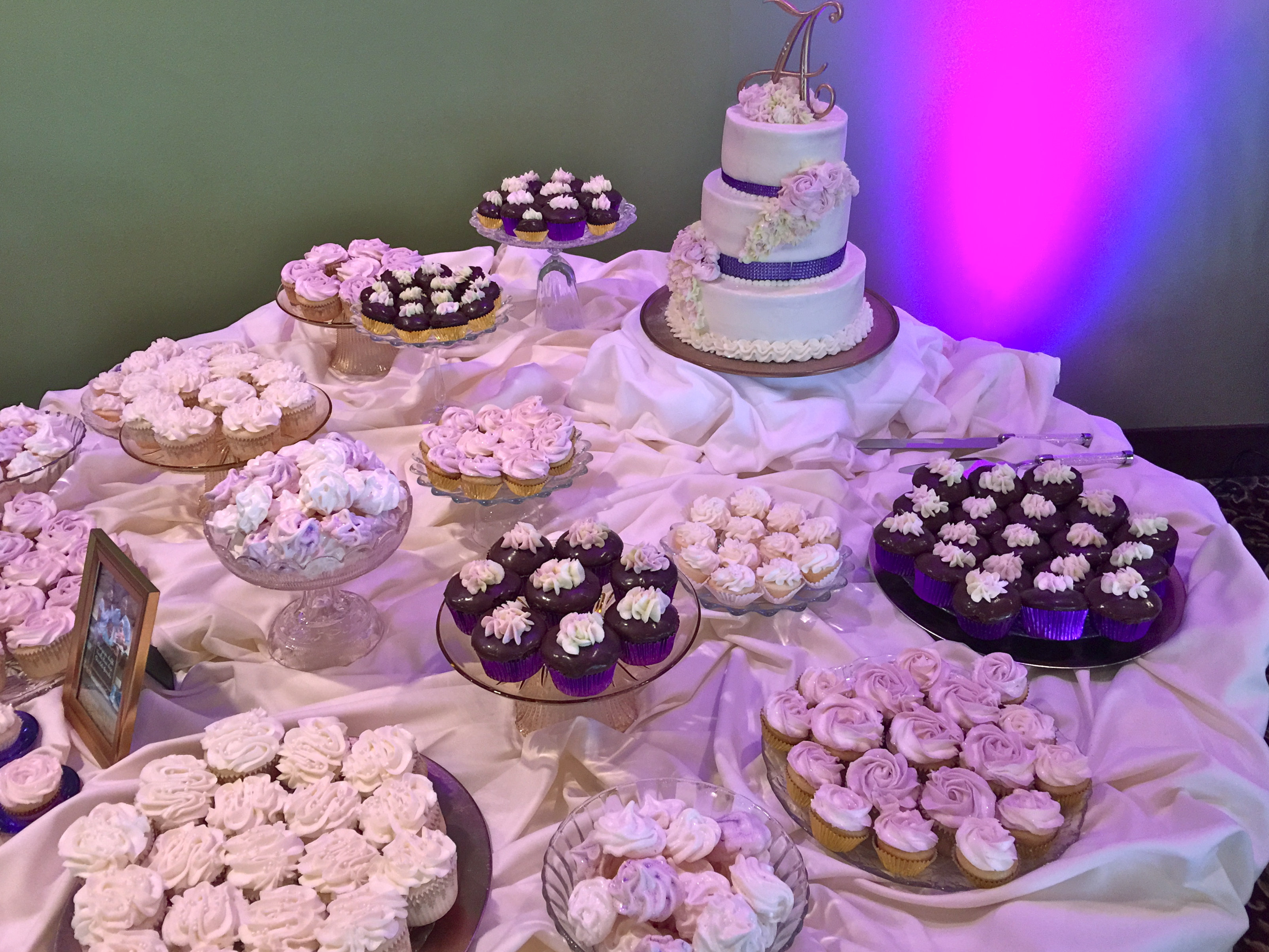 Wedding Reception Dessert Table Whimsc